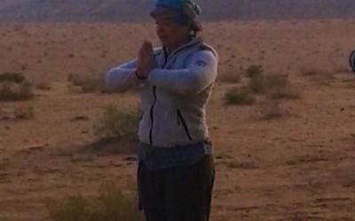Woestijnreis, van doen naar zijn, van leegte naar ruimte